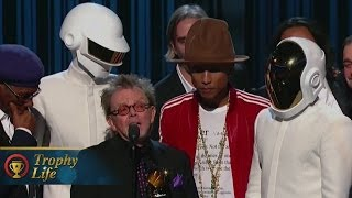 Daft Punk Wins BIG at GRAMMY Awards 2014 Album of the Year Video!