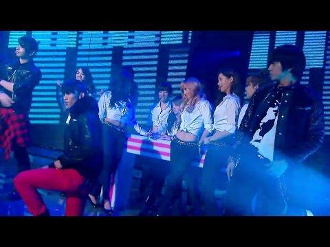 【TVPP】2PM - Love Song Medley (with SNSD) [2/3], 투피엠 - 러브 송 메들리 (with 소녀시대) [2/3] @ 2009 KMF
