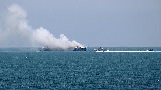 تنظيم داعش يتبنى عملية إطلاق صاروخ على فرقاطة تابعة للقوات البحرية المصرية