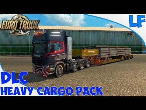 euro truck simulator 2 dlc heavy cargo pack youtube. Black Bedroom Furniture Sets. Home Design Ideas