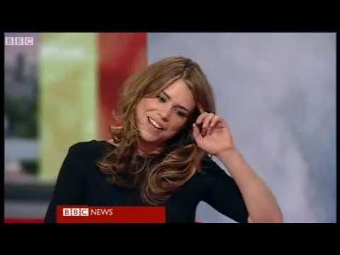 Billie Piper on BBC Breakfast 2010