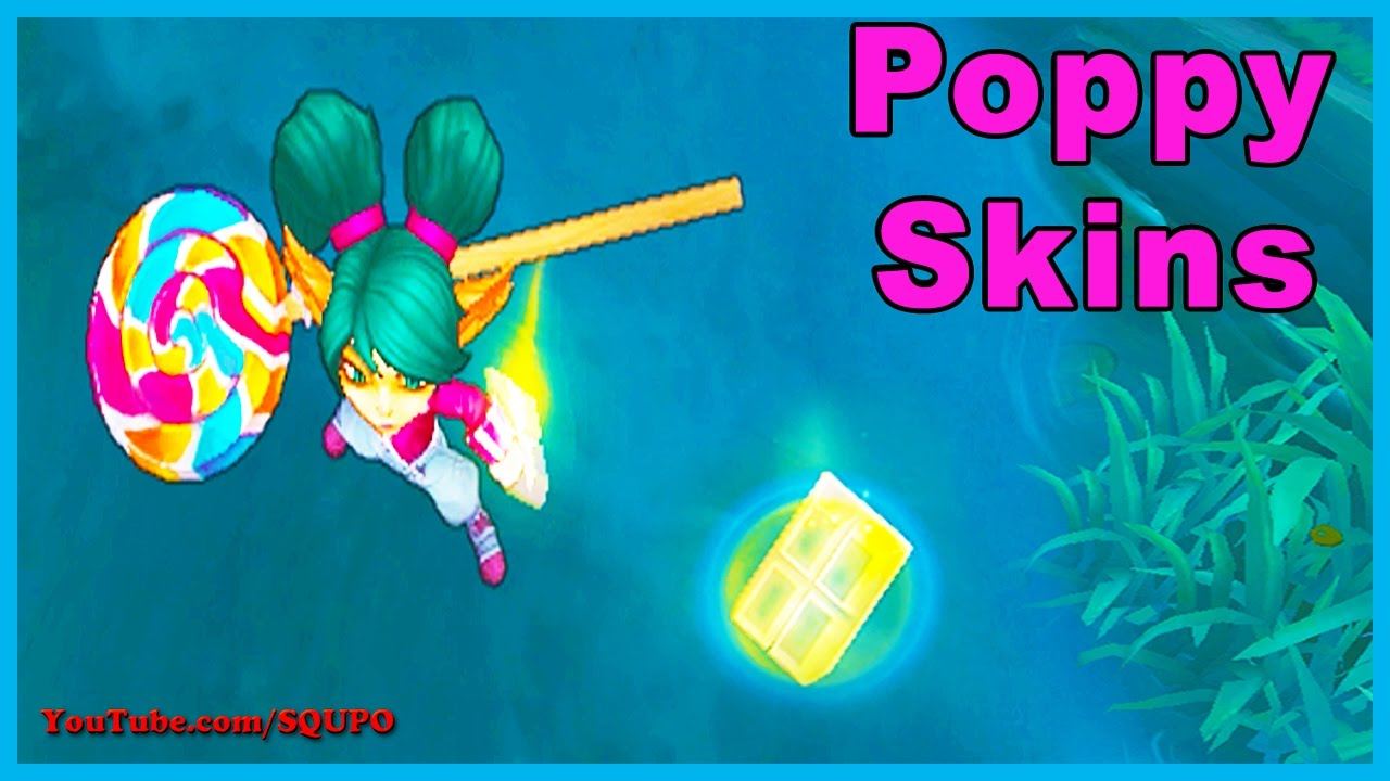 All Poppy Skins (League of Legends) - YouTube
