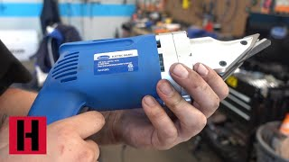 How To Use Electric Shears and Tin Snips Safely