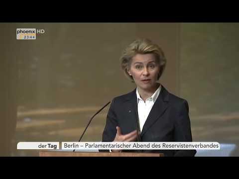 Lage der Bundeswehr: Rede von Ursula von der Leyen am 16.05.17