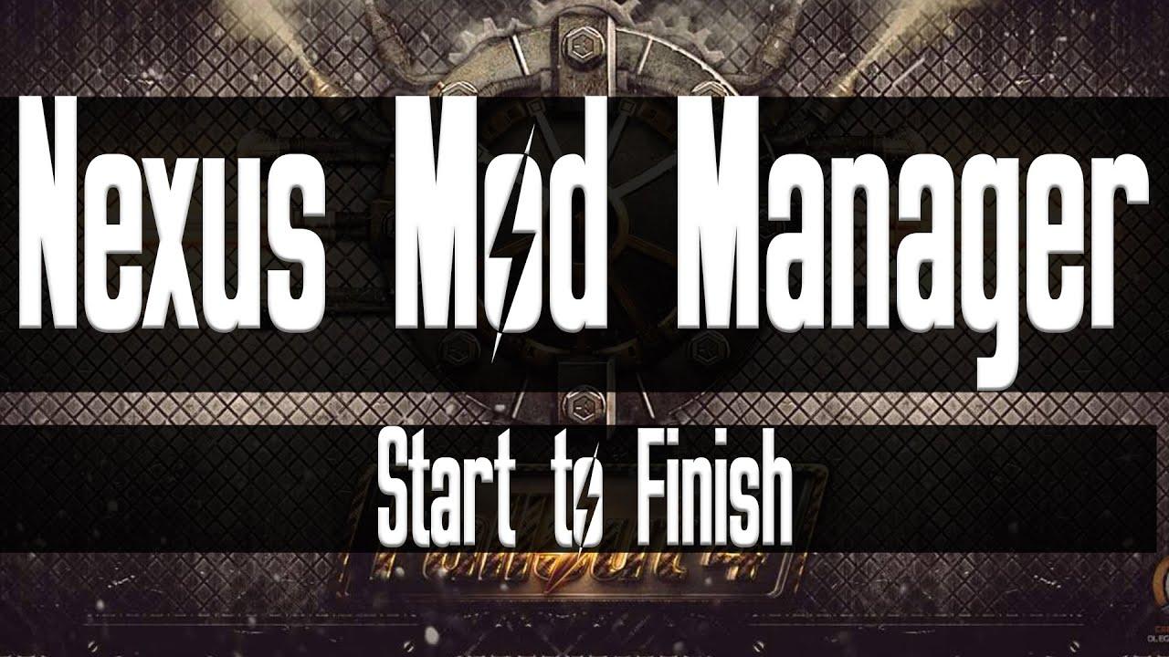 R nexus mod manager