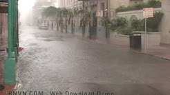 8/29/2005 Hurricane Katrina, New Orleans, LA - French Quarter Video. Raw Master - 19