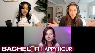 """Katie thurston stops by to chat with co-hosts rachel lindsay and becca kufrin about her experience competing for matt james' heart on """"the bachelor"""" season 2..."""