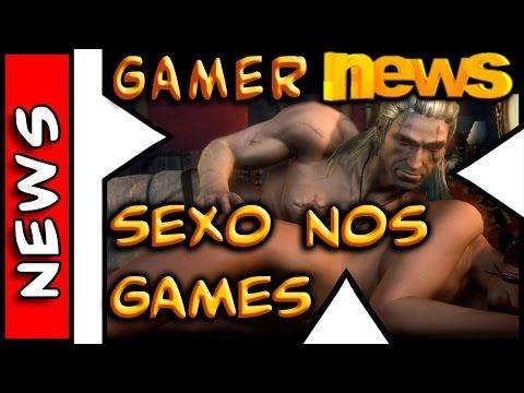 Gamer News . Sexo nos Games . DeadPool . Warcraft IV . Ouya - 동영상