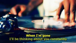 When I'm Gone-Albert Hammond KARAOKE