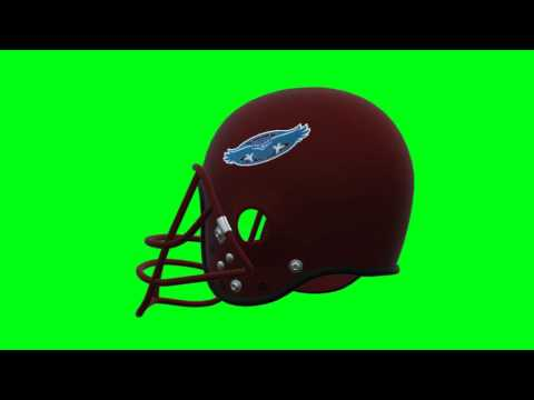 Florida Atlantic Owls helmet 2 chroma