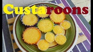 Custaroons | Lecheroons | Coconut Macaroons | Steamed Custard Macaroons | Leche Macaroons