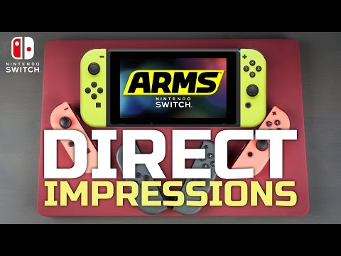 A New Challenger Has Entered the Ring - ARMS Nintendo Direct Impressions