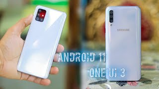 Samsung A series phone confirm for Android 11 and one ui 3