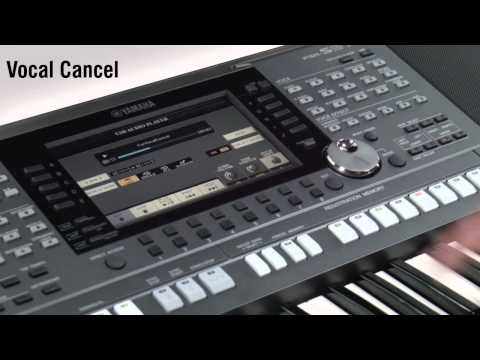 Yamaha psr s770 arranger keyboard workstation demo by for Yamaha psr s770 review