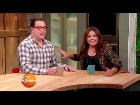 Brendan Fraser On Rachel Ray  He Is Looking For A Job!
