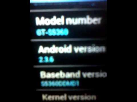 Samsung Galaxy Y 2 3 6 Upgrade To 4 0 6 Ics Youtube