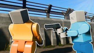 JAILBREAK! - Brick Rigs Multiplayer Gameplay - Cops and Robbers challenge