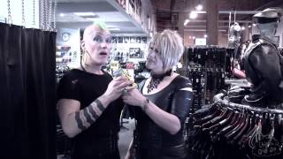 Mr. S Leather, Part II: Swing, dildos and cock rings