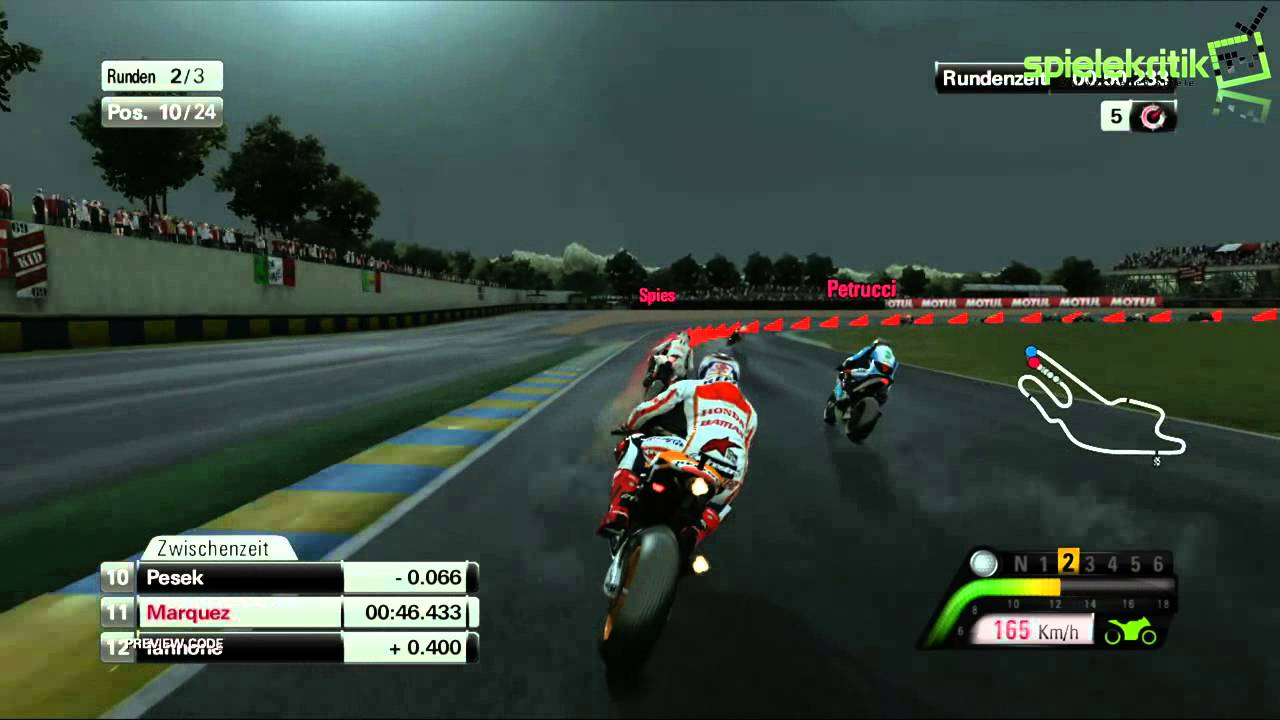MotoGP™13 Gameplay Le Mans Marc Marquez [HD] - YouTube