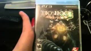 Unboxing inFamous collection bioshock 2