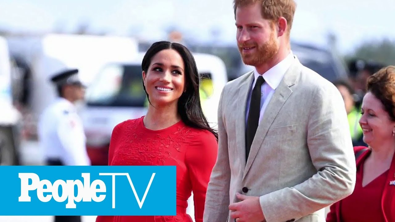 Prince Harry And Meghan Markle Arrive In Tonga | PeopleTV