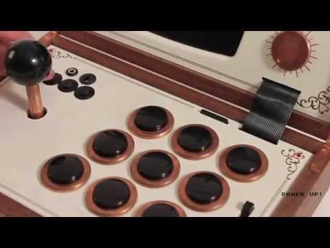 R KAID R   The portable arcade system