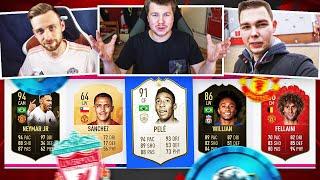 PLKD i JCOB wybierają DRAFT BITWY O ANGLIĘ! 🔥🏴 FIFA 19