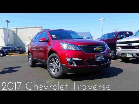 2017 Chevrolet Traverse LT 3.6 L V6 Review