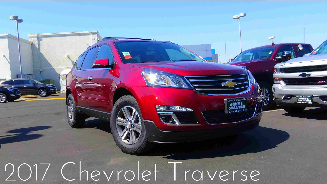 2017 chevrolet traverse lt 3 6 l v6 review doovi. Black Bedroom Furniture Sets. Home Design Ideas