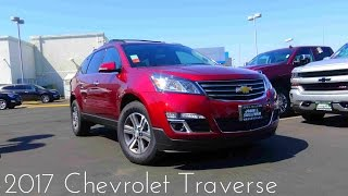 2017 Chevrolet Traverse LT 3.6 L V6 Review
