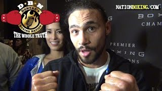KEITH THURMAN TALKS ABOUT GUERRERO'S CHIN AND BREAKS DOWN HIS STYLE