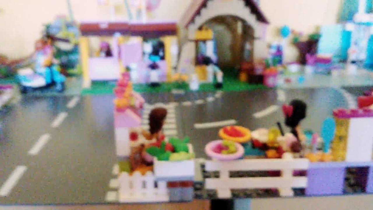 pr sentation de ma ville lego friends youtube. Black Bedroom Furniture Sets. Home Design Ideas
