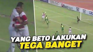 BETO KALAHKAN SRIWIJAYA FC !! Inilah yang dilakukan Beto Setelah Cetak Gol Indah Ke Mantan Timnya