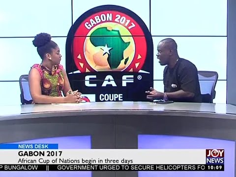 Gabon 2017 - News Desk on Joy News (11-1-17)