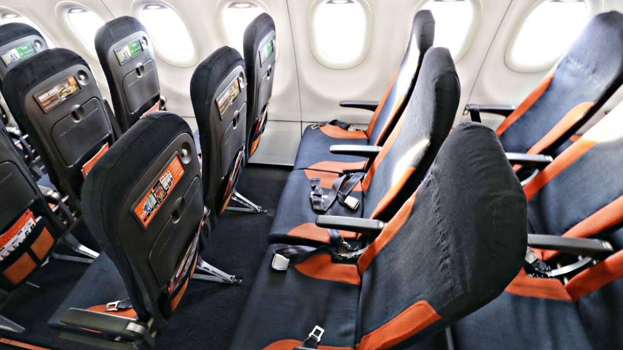 Flyer Beware Easyjet A320 Economy Class Review Prague Gatwick