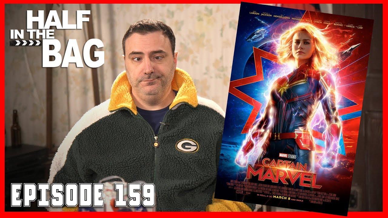 Half In The Bag Captain Marvel