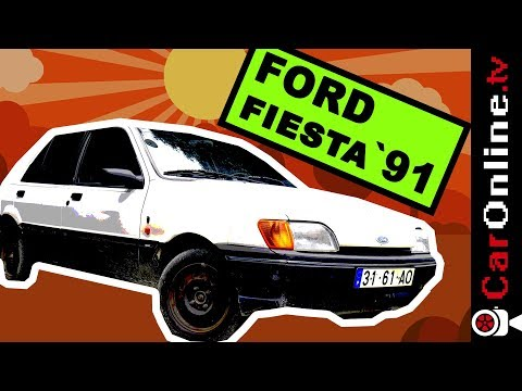 VÍTIMA de YOUTUBE JACKING | FORD FIESTA 91 [Review Portugal]