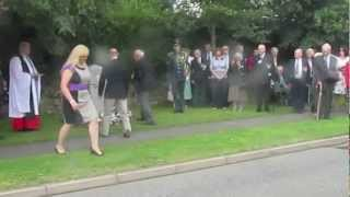RAF 101 Squadron Memorial Procession - 2/9/2012