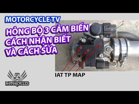 Video 146: Hỏng Bộ 3 Cảm Biến Và Cách Kiểm Tra, Sửa Chữa | Motorcycles TV