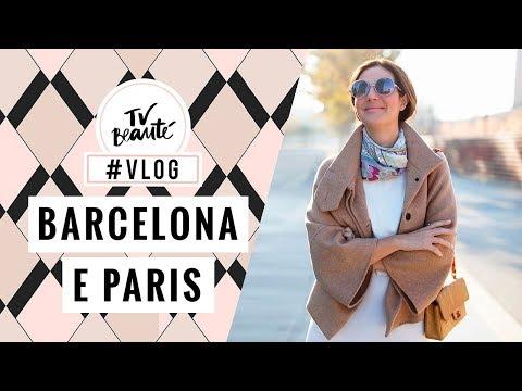 Barcelona e Paris com a The Beauty Box | vlog - TV Beauté | Vic Ceridono