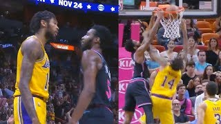 Brandon Ingram Wanna Fight Derrick Jones After Being Dunked On! Lakers vs Heat