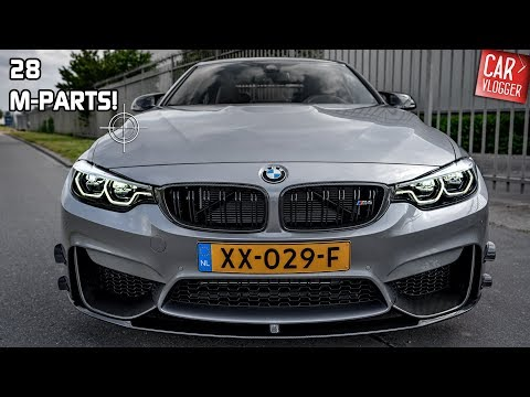 INSIDE my NEW 2019 BMW M4 Competition w/ M Performance Parts | Interior Exterior DETAILS w/ REVS