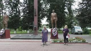 Автопробег «#За_Беларусь» и общественно-культурная акциия «Беларусь – это мы» в Глубоком