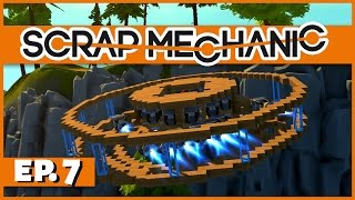 Scrap Mechanic - Ep. 7 - Wire Frame UFO Prototype! - Let's Play Scrap Mechanic Gameplay