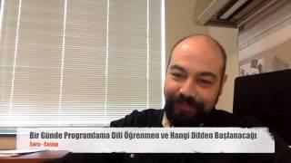Bir Günde Programlama Dili Öğrenmek, Hangi Dil Başlamak için iyidir?