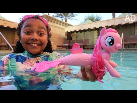 Thumbnail: My Little Pony Pinkie Pie Swimming Sea Pony Surprise Toys | Kids Toy Review