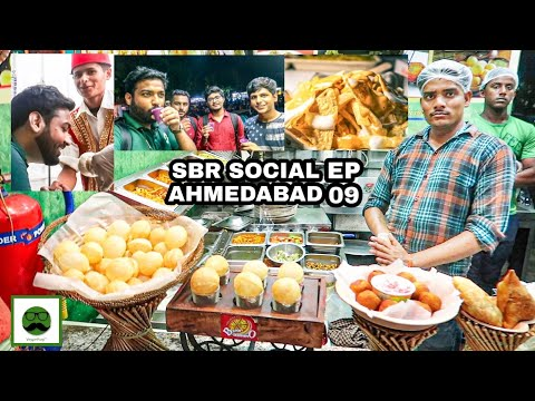 Better Than Manek Chowk? Urban SBR Social Food Market In Ahmedabad with Veggiepaaji EP 09