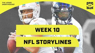 Cowboys are Overrated, Raiders are Cruising & Week 10 NFL Storylines | The Lefkoe Show