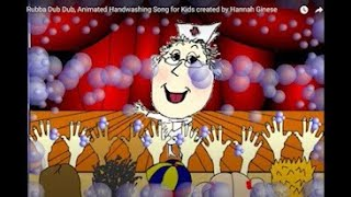 Rubba Dub Dub, Animated Handwashing Song for Kids