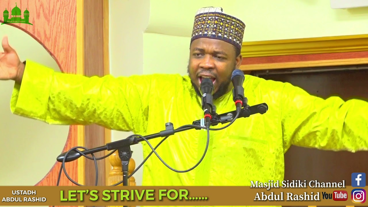 Download LET'S STRIVE FOR..... || BY USTADH ABDUL RASHID